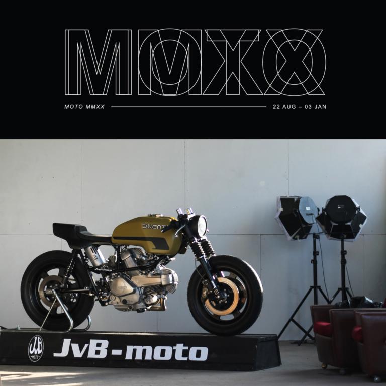 Ducati Pantah in the San Francisco Museum of Craft and Design